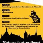 Motorrad-Gottesdienst