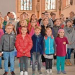 Martin Luther Schule in der Stadtkirche am 26.03.2017